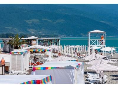 Отель «Gamma Sirius Park»  пляж