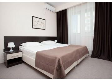Люкс 2-комнатный 2-местный| Отель «Gamma Sirius Park»| Cочи, Адлер, Имеретинский курорт- Олимпийский парк