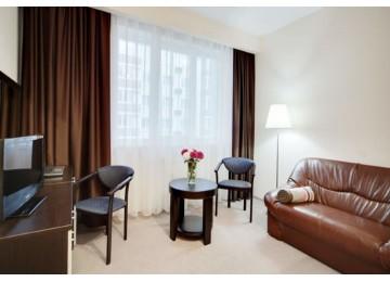 Люкс 2-комнатный 2-местный|Отель «Gamma Sirius Park»| Cочи, Адлер, Имеретинский курорт- Олимпийский парк